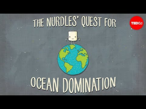 Video image: The nurdles' quest for ocean domination - Kim Preshoff