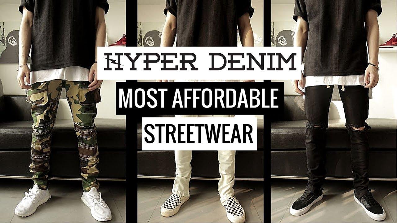 Hyper Denim – Unbox & Review | Hãng thời trang streetwear giá cả phải chăng | HUGE GIVEAWAY!!!