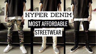 Hyper Denim Unbox Review H ng thi trang streetwear gi c phi chng HUGE GIVEAWAY