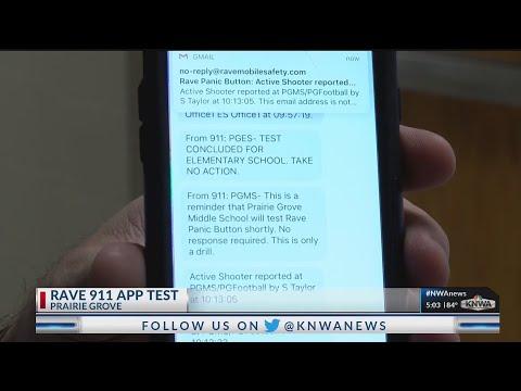Prairie Grove School District Tests Safety App (KNWA)
