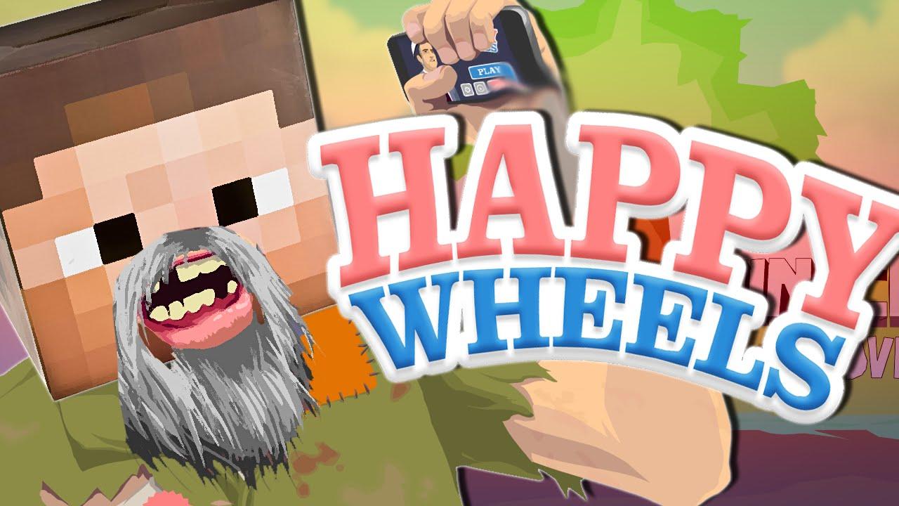 Happy Wheels The Minecraft Adventure Youtube