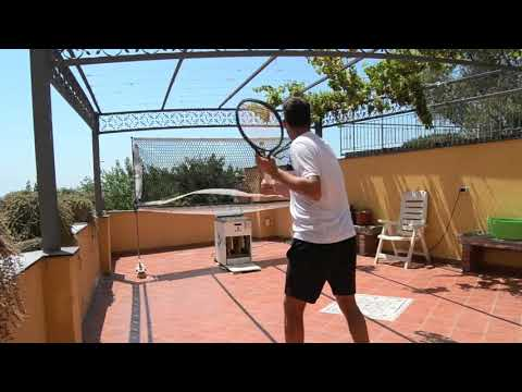 Have you ever played tennis on a terrace? Now you can!