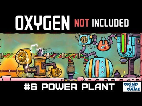 Oxygen Not Included OIL UPGRADE - Natural Gas Generator Setup #6 [4k]