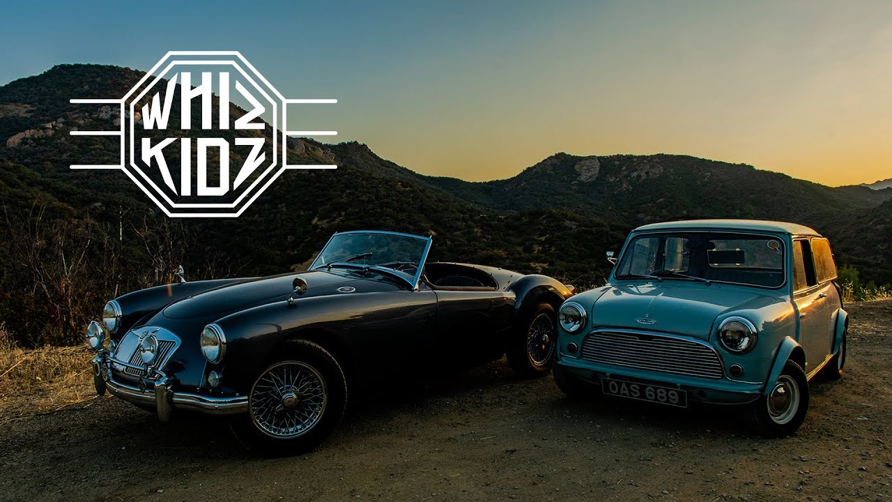 37092366a93 1958 MGA And 1962 Austin Mini Cooper: Whiz Kids