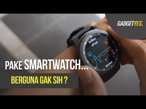 Review 1 Hari Pakai Smartwatch Samsung Galaxy Gear S3 - Indonesia
