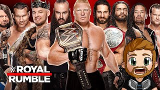 WWE ROYAL RUMBLE (2020) LIVE STREAM LIVE REACTIONS WATCH PARTY