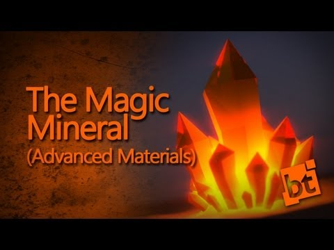 The Magic Mineral - Blender tutorial