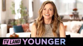 Younger | Liza's Revolving Door of Men & Kelsey's Type | Behind the Scenes Season 3 Ep. 8