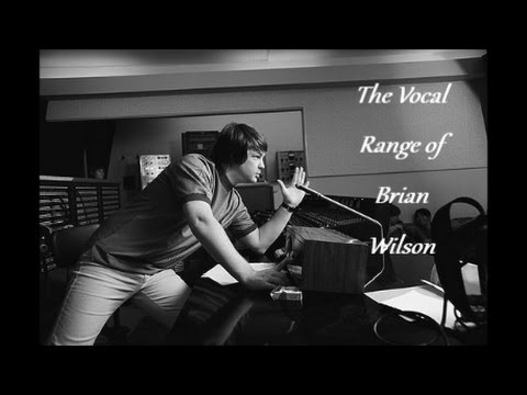 The Vocal Range of Brian Wilson -- C♯2-A5