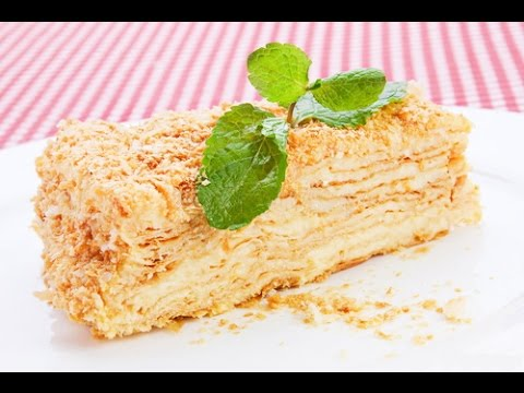 Торт Наполеон пошаговый рецепт в домашних условиях с фото