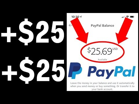 Earn $25.00 In PayPal Money Doing Tasks! (Get FREE PayPal Money Daily)