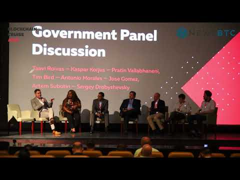 "Blockchain Cruise Asia ""Government Panel Discussion"" part 2 (Cryptocurrency)"