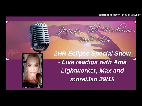 2HR January Eclipse Special show with Alma Lightworker, Max and more...