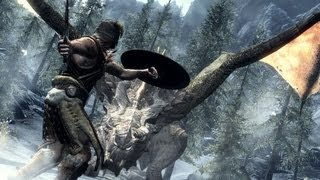 AMD 7640g Gaming Test : Elder Scrolls Skyrim