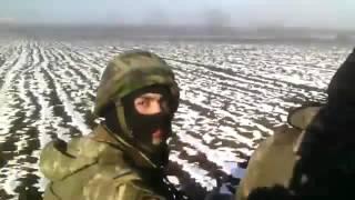 Дебальцево-Артемовск.Февраль,2015.ВСУ уезжает с котла.