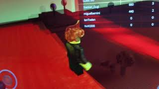 My frend playing roblox part 2
