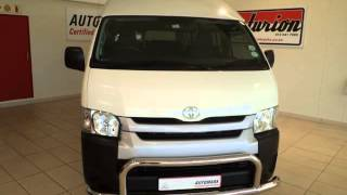 TOYOTA QUANTUM 2.5 D-4D SESFIKILE 16-SEATER BUS Auto For Sale On Auto Trader South Africa