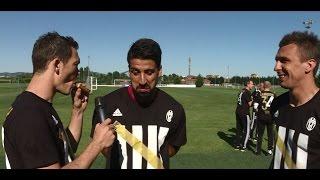 Juventus Scudetto party Exclusive with Lichtsteiner, Khedira and Mandzukic