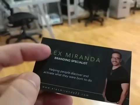 The Perfect Business Card For Entrepreneurs Youtube
