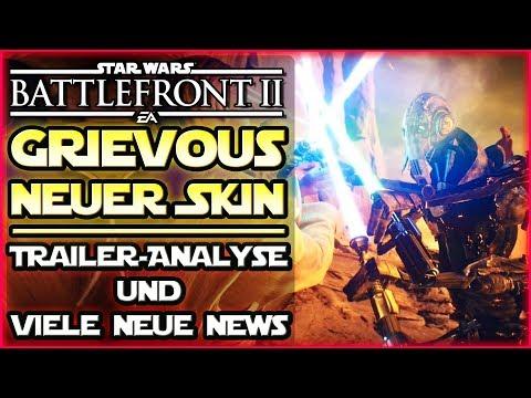 Neuer General Grievous Skin! + Trailer Analyse + viele neue News - Star Wars Battlefront 2 thumbnail