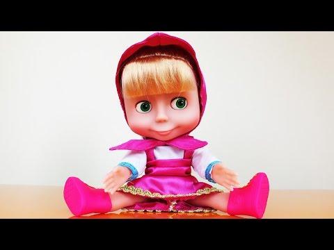 Видео: Кукла Маша из мультфильма Маша и Медведь. Распаковка и обзор игрушки для девочек