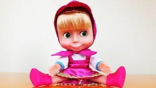 Лялька Маша з мультфільму Маша і Ведмідь. Розпакування та огляд іграшки для дівчаток