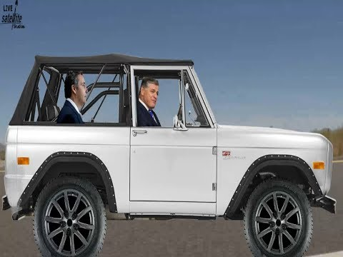 Sean Hannity Drives White Ford Bronco with Michael Cohen in the Back Tainted Love - Metal Cover