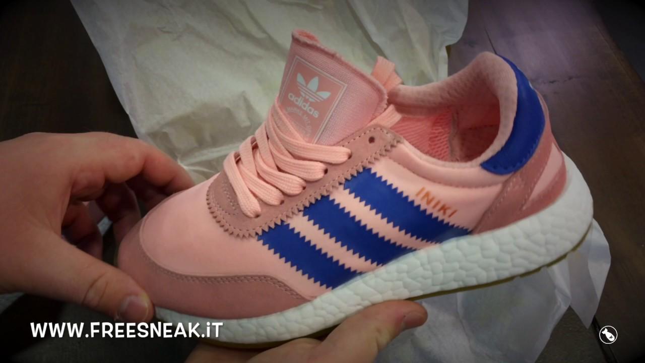 Unboxing adidas iniki runner w rosa corallo ba9999 youtube...