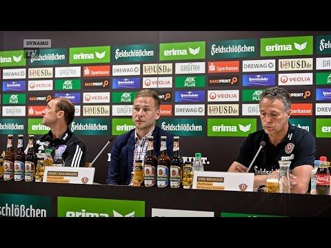 9. Spieltag | SGD - VFL | Pressekonferenz nach dem Spiel