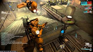 Amazing Specter Action - Warframe