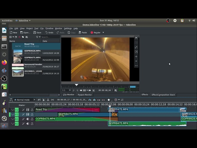 Getting Started Video Editing with KDEnlive Free Video Editor. Part 2