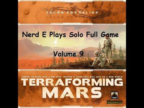 Terraforming Mars Solo Play Volume 9