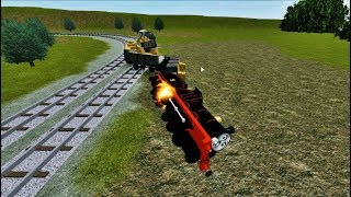 Thomas and Friends The Adventure Begins Crash and Thomas Narrow Gauge Railway Roblox!