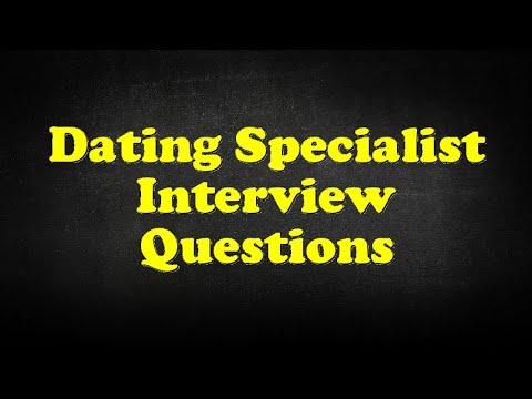 Interview dating questions