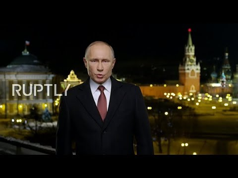 REFEED: New Year's address by President of the Russian Federation Vladimir Putin