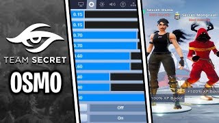 Secret Osmo Fortnite Settings & Keybinds (Mongraal's Duo Partner)