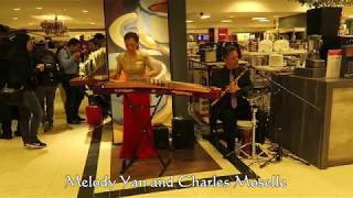 Melody Yan and  Charles Moselle in Macy's Event Part 1