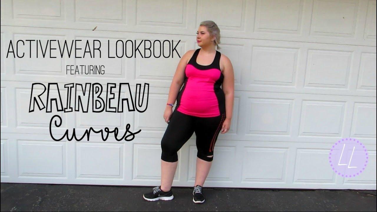 PLUS SIZE Activewear Lookbook ft. Rainbeau Curves | Looks by Lydia ...
