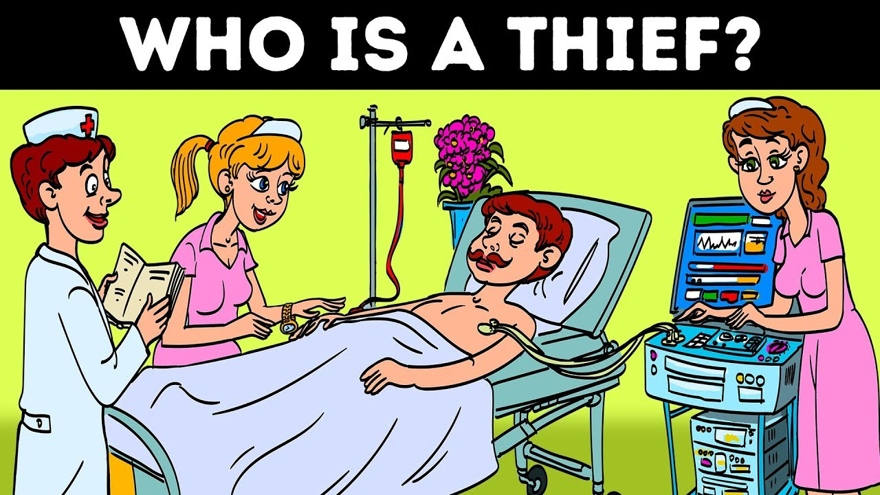 YOU'LL FIND THE THIEF IF YOUR IQ IS ABOVE AVERAGE! 11 Riddles And Teasers