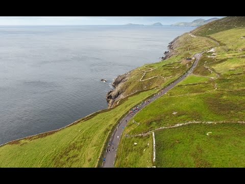 Scenic Aerial Video - Dingle Marathon
