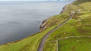 Scenic Aerial Video - Dingle Marathon