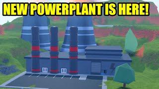 NEW POWERPLANT may be BEST ROBBERY YET... | Roblox Jailbreak