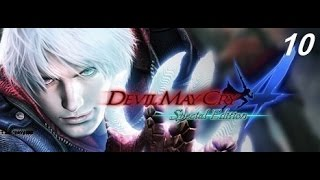 Devil May Cry 4   Special Edition Walkthrough Gameplay mission 10