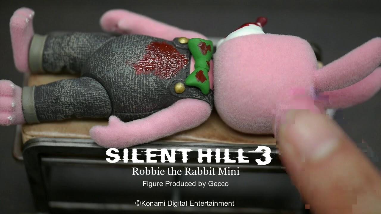 silent hill 3 robbie the rabbit mini