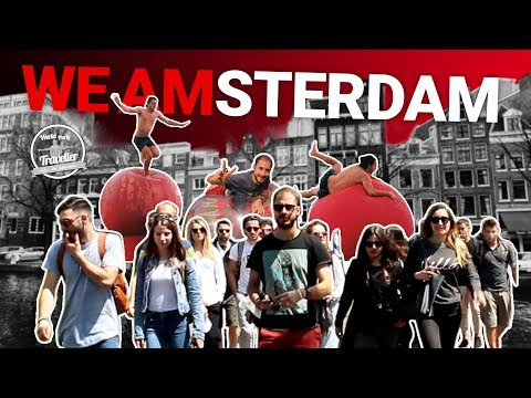 TRAVELLERS προκαλούν μια Α αναστάτωση στο Άμστερνταμ