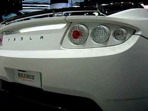 Brabus Tesla With Sound Module Youtube