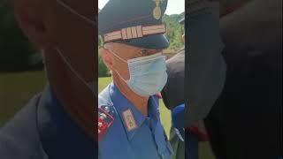 Bambino ritrovato a Palazzuolo, la commozione del Carabiniere Ciccarelli