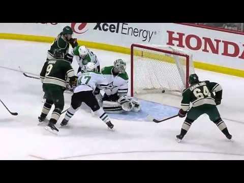 Dallas Stars vs Minnesota Wild. Conference Quarterfinals Playoffs NHL 2016
