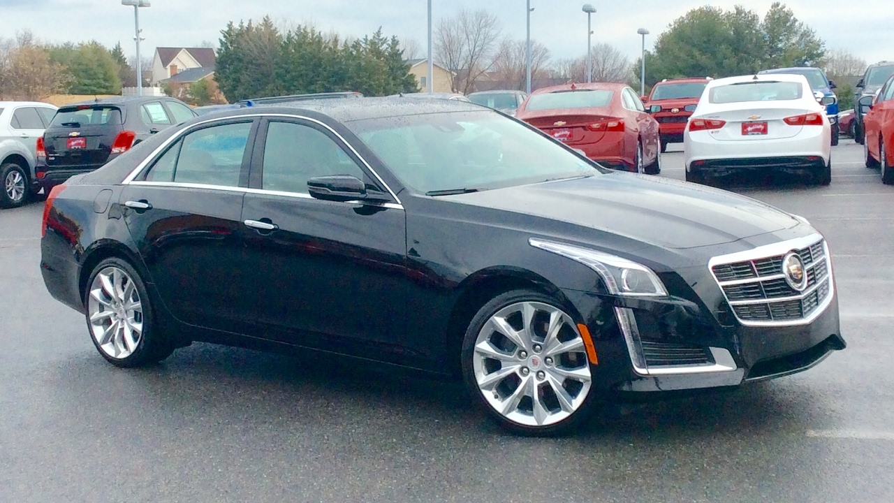 2014 Cadillac CTS Premium Collection AWD 2.0L Turbo Start Up, Review