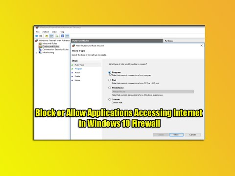 how to block all program from accessing internet except one